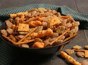 Ranch Snack Mix 9nbspRecipe