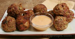 Reuben Croquettes with Swiss Cheese