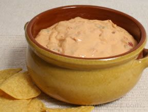 salsa and cheese dip Recipe
