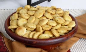 Seasoned Oyster Crackers Recipe
