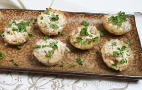 Shrimp Salad Tarts Recipe