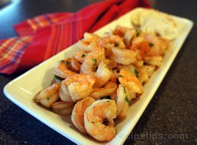 Spicy Baked Shrimp Appetizer