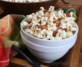 Spicy Popcorn and Peanuts Recipe