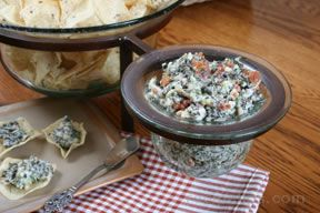 spinach and bacon dip Recipe