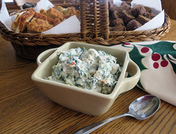 spinach dip with water chestnuts Recipe