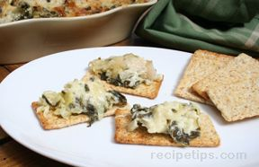 Spinach Swiss and Artichoke Dip