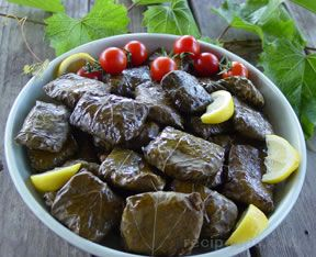 Stuffed Grape Leaves  Dolmades
