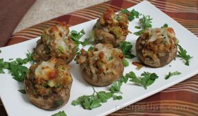 Stuffing Stuffed Mushrooms Recipe