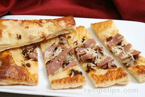 Sun Dried Tomato Tart with Prosciutto Recipe