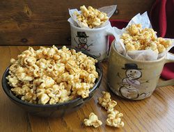 Sweet and Salty Caramel Corn