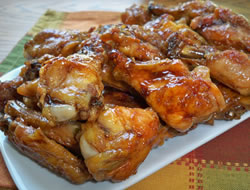 Sweet Teriyaki Chicken Wings
