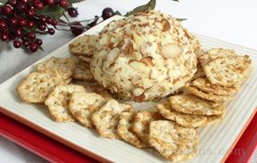 Swiss Almond Cheese Ball Recipe