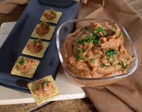 Tomato and White Bean Dip