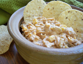zesty chicken corn dip Recipe