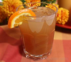 Cran-Orange Ice Tea Cooler