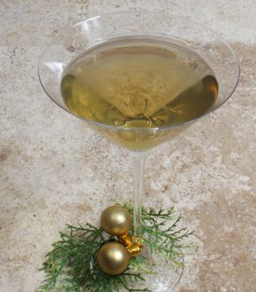 Cr#232me Br#251l#233e Martini Recipe