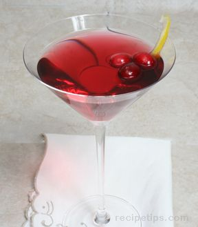 Holiday Martini Recipe