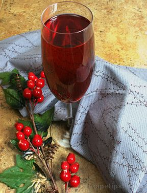 Poinsettia Champagne Recipe