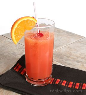Shirley Temple with Orange Juice Recipe