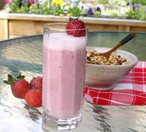 Banana Strawberry SmoothienbspRecipe