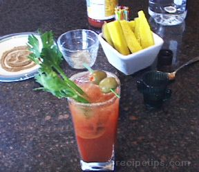 Spicy Bloody MarynbspRecipe
