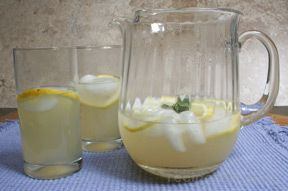 Spicy Rosemary Lemonade