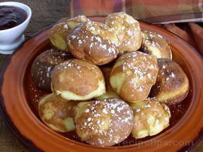 Aebleskivers - Apple Pancakes