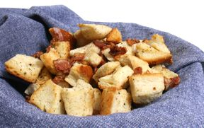 Bacon Croutons Recipe