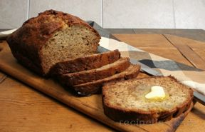 Banana  Bread with Sour Cream Recipe