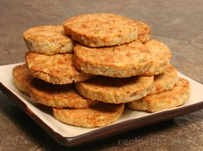 Blue Cheese Walnut Crackers
