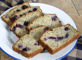 banana blueberry bread Recipe