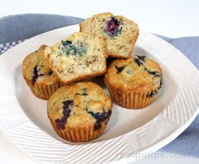 Blueberry Banana Muffins Recipe