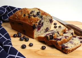 blueberry nut bread Recipe