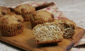 Bran and Raisin Muffins Recipe