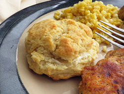 buttery drop biscuits Recipe