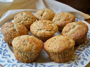 Cinnamon Banana Muffins Recipe