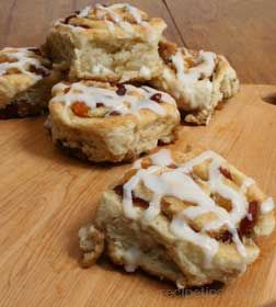 Fruit Filled Cinnamon Rolls
