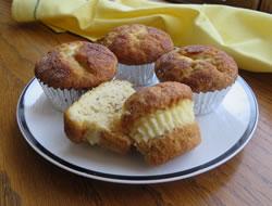 Cream Cheese Banana Muffins