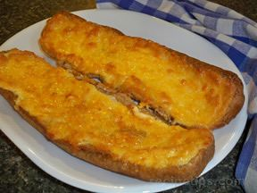 Easy Cheesy Bread Recipe