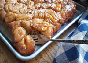 Flaky Caramel Rolls Recipe