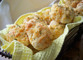 Garlic Cheddar Biscuits Recipe