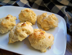 Homemade Baking Powder Biscuits