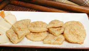 Rosemary Oatmeal Crackers