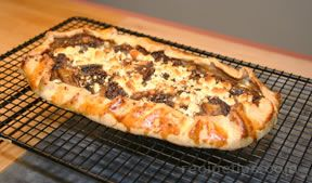Morel and Onion Tart