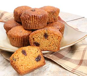 Carrot Muffins - Healthy Style