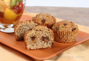 Multi Grain Fruit Muffins Recipe