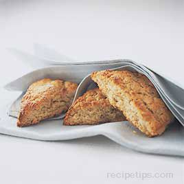 Oatmeal Buttermilk Scones Recipe
