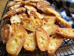 Oven Toasted Garlic Baguettes Recipe