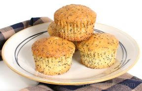 Quick Lemon Poppy Seed Muffins