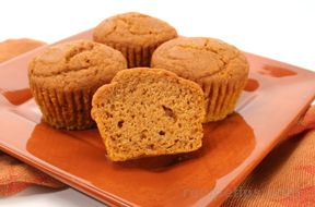 Pumpkin and Ginger Seasoned Muffins